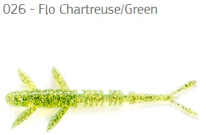 026 Flo Chartreuse/Green